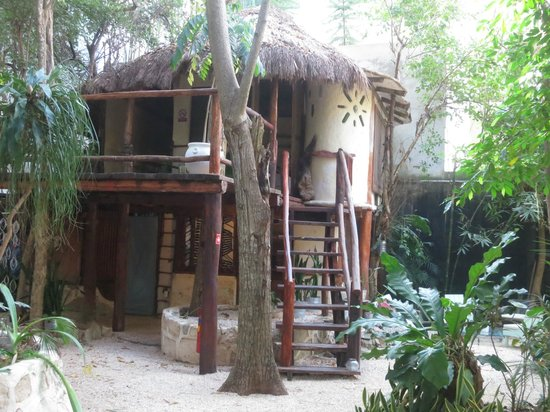 Ecolodge Shalala: Our 2-story cottage - La Villa