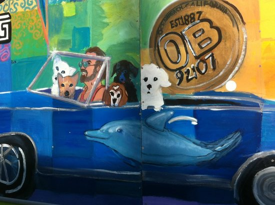 Ocean Beach: great murals to check out
