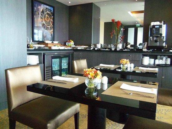 Hilton Lima Miraflores: Comedor piso ejecutivo