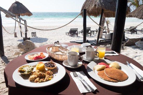 Poc-na Tulum : breakfast
