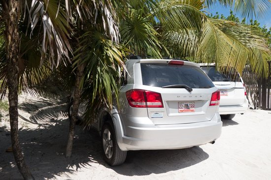 Poc-na Tulum : parking