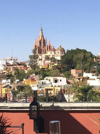 Rosewood San Miguel de Allende : Vista desde el luna rooftop tapas Bar