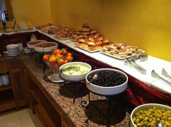 Hotel Miramar: Buffet
