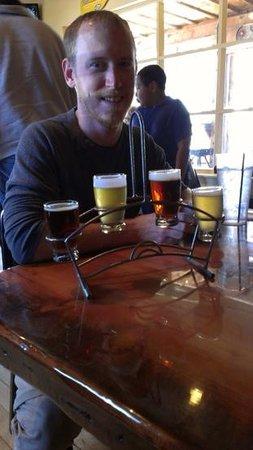 Riff Raff Brewing Company: beer sampler from Riff Raff Brewing