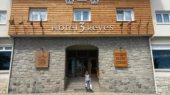 Hotel Tres Reyes: fachada