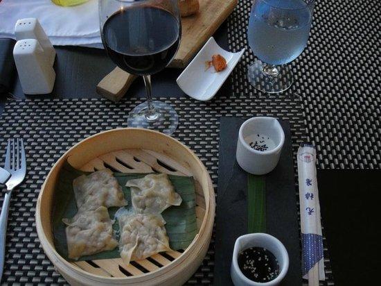 Taste Restaurant at Casa Cupula: dim sum