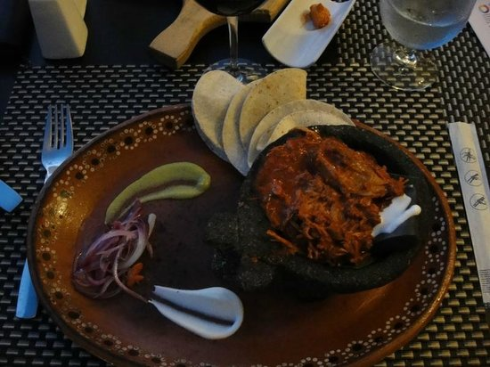 Taste Restaurant at Casa Cupula: pork