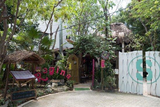 Ecolodge Shalala : Entrance