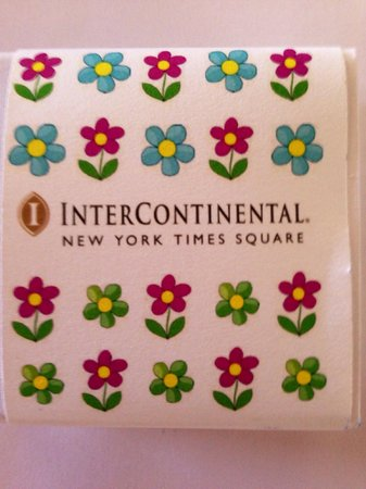 InterContinental New York Times Square : Part of welcome gift