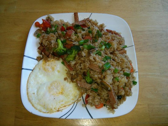 Oceans Apart: Kauai Boy Fried Rice and Eggs