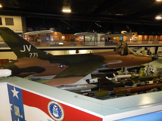 Air Force Armament Museum: F-105 Thunderchief