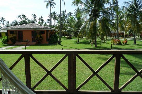 Patachocas: vista do bangalô