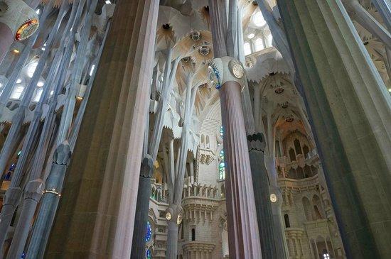 Sagrada Família : Sagrada Familia - interior