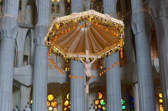 Sagrada Família : Sagrada Familia - ciborium