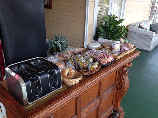 New Orleans House: Frühstück