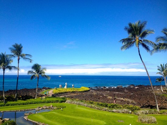 Hilton Waikoloa Village: View from our Cabana