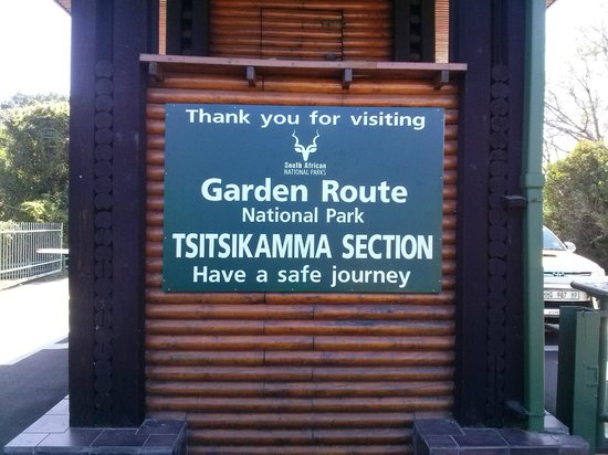 Garden Route (Tsitsikamma, Knysna, Wilderness) National Park: Entrada al Parque