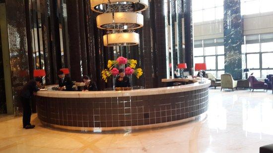 Minya Hotel Pudong Shanghai: лобби