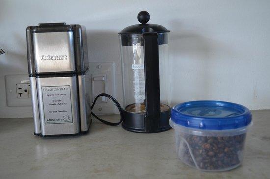 Hix Island House: Coffee Stuff