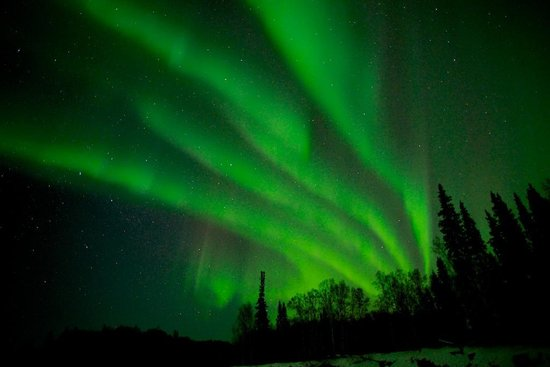 Riverbend Log Cabins & Cottage Rentals: The Northern Lights