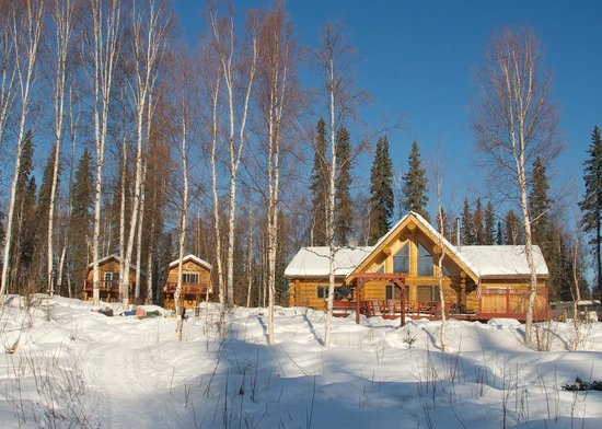Riverbend Log Cabins & Cottage Rentals: A different light on the Cabins
