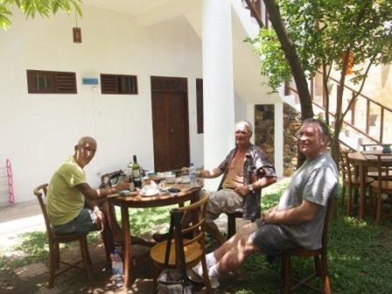 Baan@25 Villa : the garden