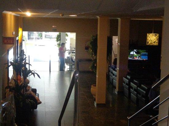 Aguas do Iguacu Hotel Centro: hall