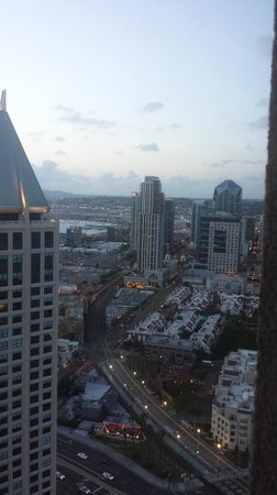 Manchester Grand Hyatt San Diego : View from Room of City