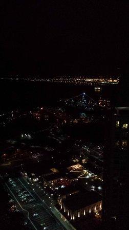 Manchester Grand Hyatt San Diego: San Diego at night from 40th floor restaurant
