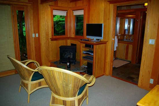 Volcano Places: Livingroom area