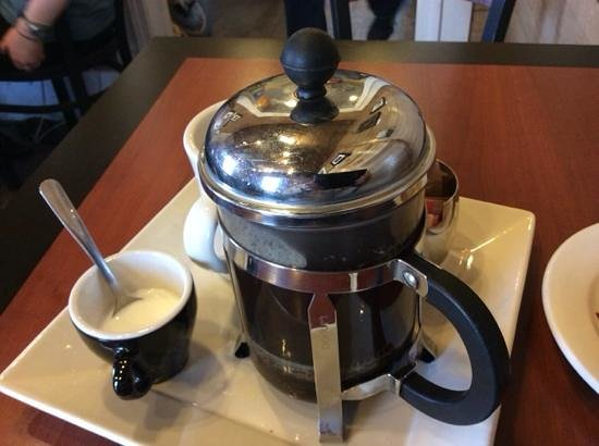 Land of 1000 Hills Coffee: French press