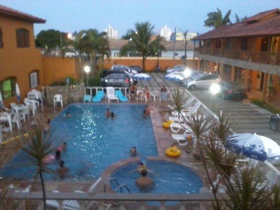 Hotel Pousada Paradise: vista do meu apartamento
