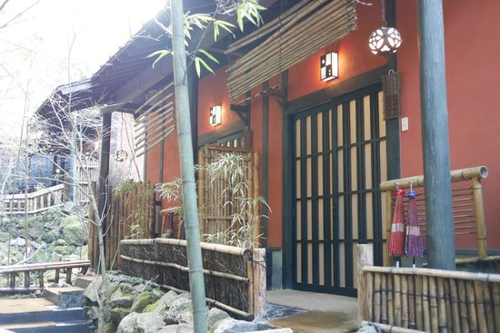 Takefue: 回廊から
