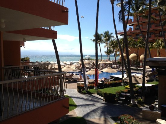 Villa del Palmar Beach Resort & Spa: Ocean view from the room. Building 2, 2nd floor.