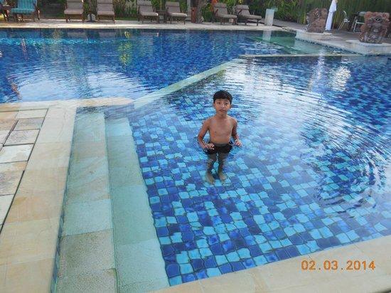 Rama Candidasa Resort & Spa : Pool