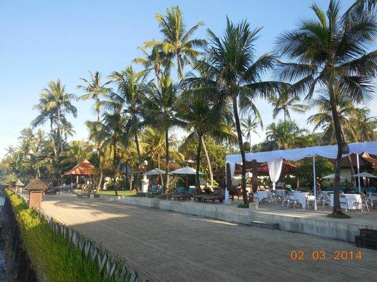 Rama Candidasa Resort & Spa : Pool area