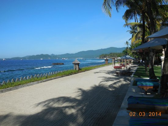 Rama Candidasa Resort & Spa: Beach Area