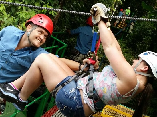 Sky Adventures - Arenal Park: Ready?