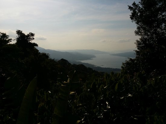 Sky Adventures - Arenal Park: Lake Arenal as seen from the top