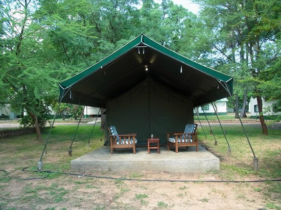 Victoria Falls Rest Camp & Lodges: Luxury Tent