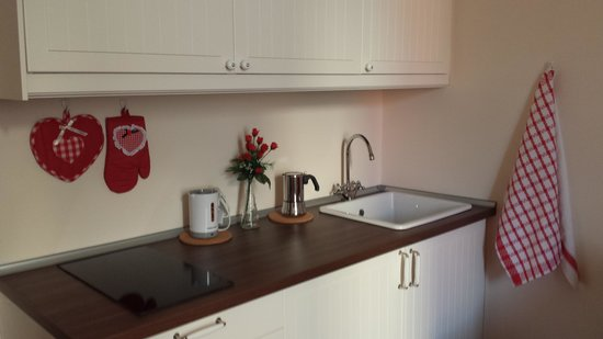 2b Holiday Home: apartment Dante- living room with kitchenette