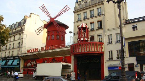 Moulin Rouge: это Мулен руж