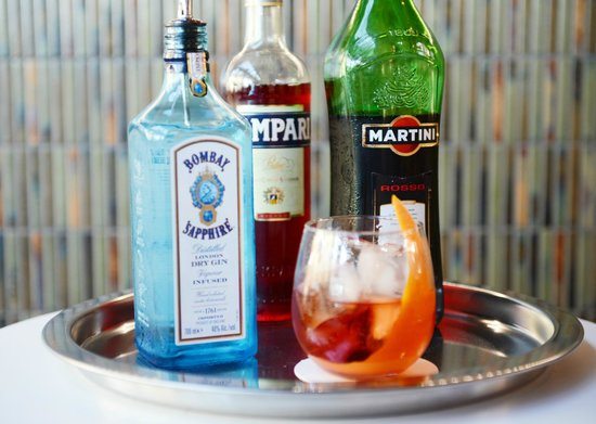 Italian at the Pacific: Negroni