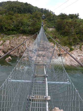 Buller Canyon Jet: swingbridge