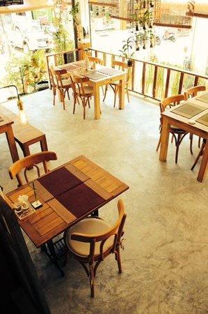 Chocolat Koh Tao: dine in style.