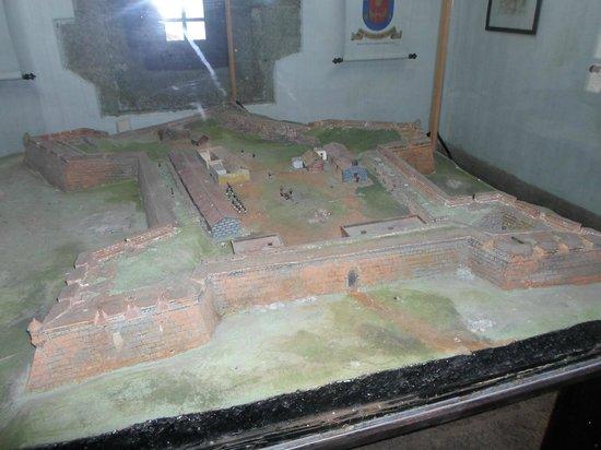 Fortaleza de Santa Teresa: Maquete do forte