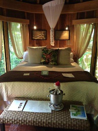 Namale Resort & Spa : Bedroom area