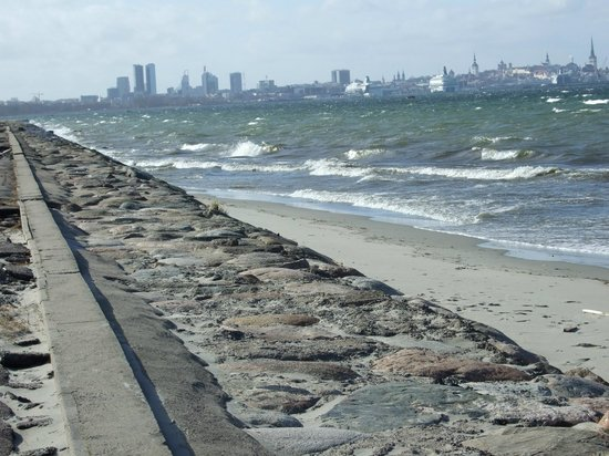 Pirita : The sea in March