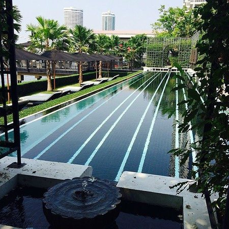 The Siam: Pool at the river front