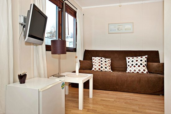 Sandmoen Bed & Breakfast : single room with sleeping sofa